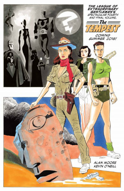 League of Extraordinary Gentlemen-The Temprst - Sff Planet