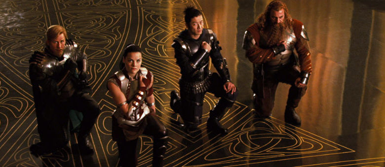 Thor: Ragnarok - The Warriors Three - SFF Planet